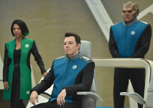 Would any of you be surprised if I said Seth MacFarlane is the worst character?