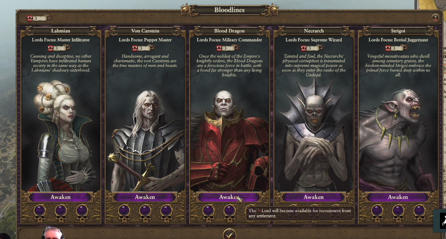 I would also be okay with the Strigoi getting their own sub-faction.