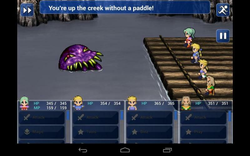 Because I know this what people want to look at when they play Final Fantasy VI on their platform of choice.