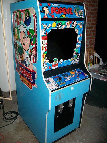 Original Arcade Cabinet