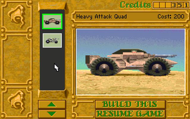 Heavy Attack Quad