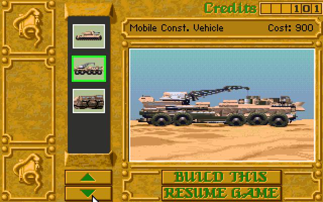 MCV (Mobile Construction Vehicle)