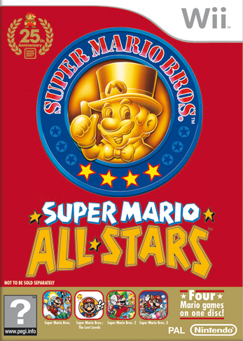 Box art for the Wii's Anniversary Edition.