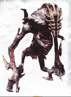 An unnamed alien Necromorph.