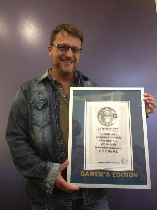 Blum and his Guinness World Record