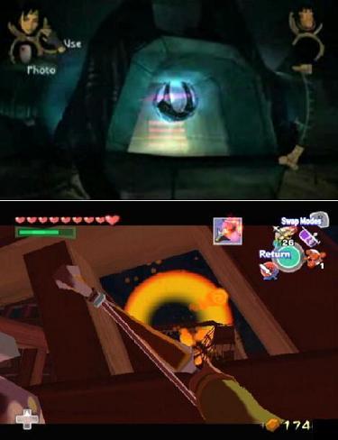 Jade's disc / Link's arrows