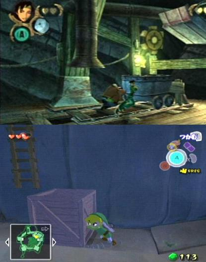 Puzzle solving and platforming