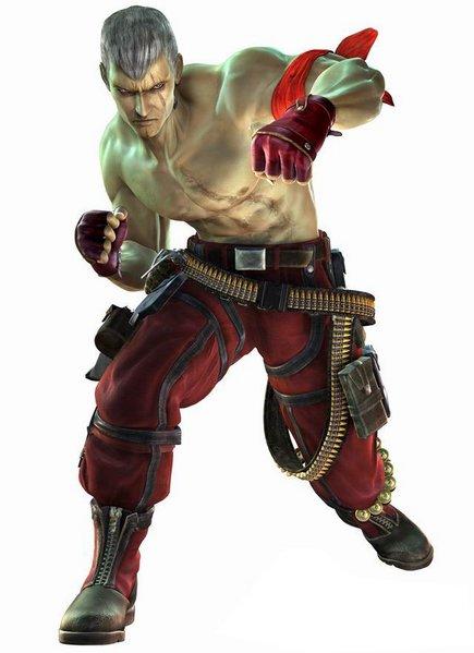Bryan as he appears in Tekken: Dark Resurrection