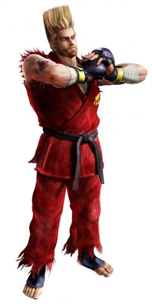 Paul Phoenix as he appears in Tekken 5