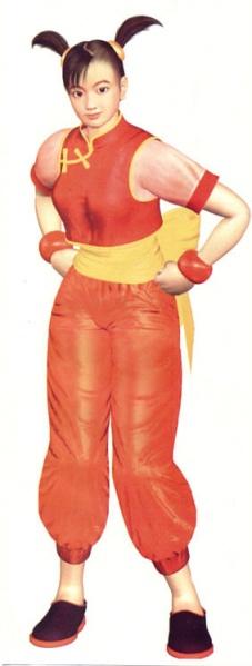 Ling's Tekken 3 artwork