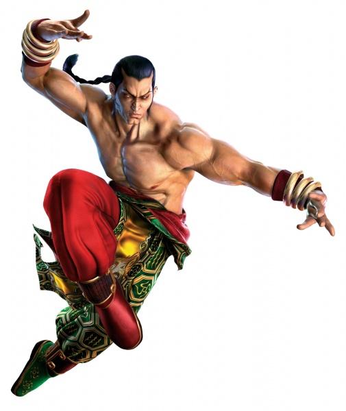 Tekken 5 artwork for Feng Wei