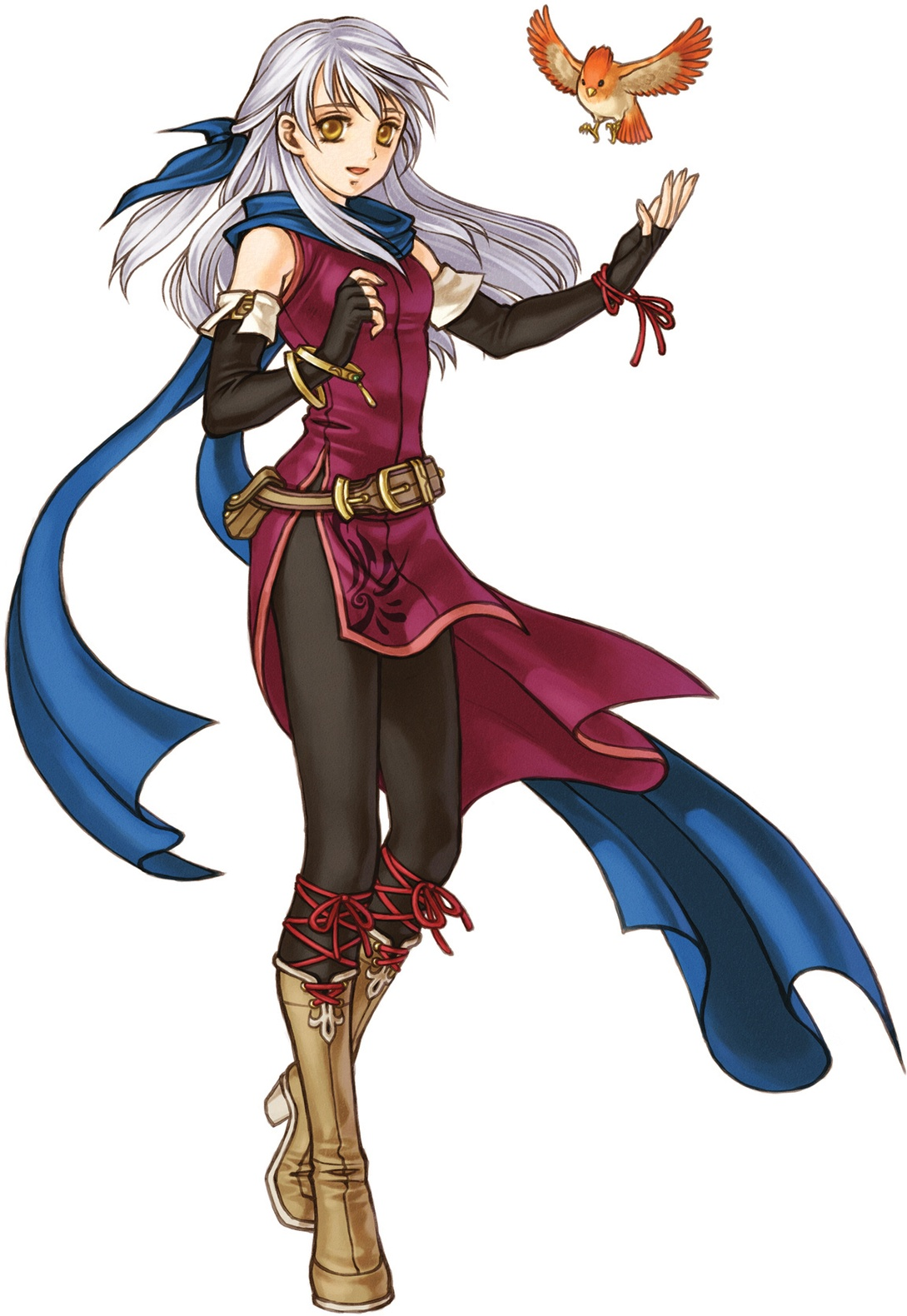 The story hinges around Micaiah, a mage that leads the liberation of Daein.