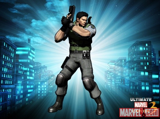 Yes, his handle is actually Senor Ass Taxi. And Chris Redfield is his point character.