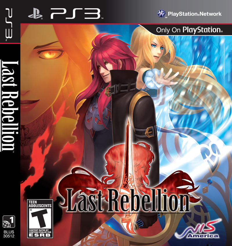 Front cover of Last Rebellion (US) for PlayStation 3
