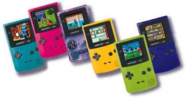 You could play games from the original Game Boy on the Game Boy Color.