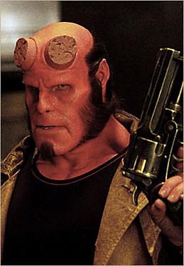 Hellboy with the Good Samaritan