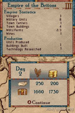 It's only day 2, so the player must have started on the third age.