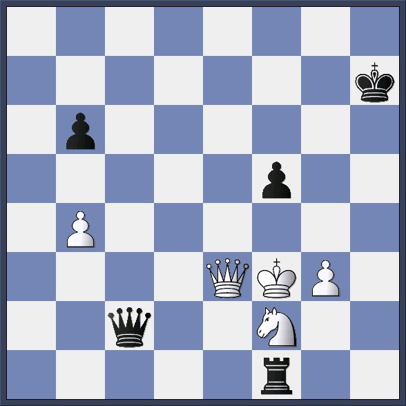 Mate in two, black to make a move