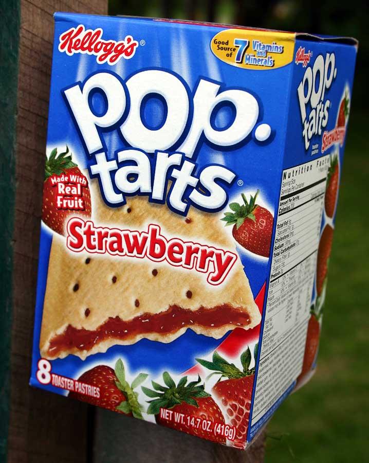 Strawberry Pop-tarts.