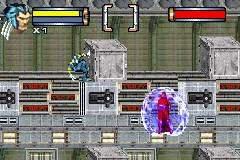 The Game Boy Advance version of X2: Wolverine's Revenge