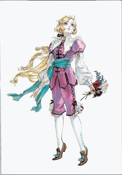 Maria's design in Dracula X: Rondo of Blood.