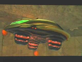Metroid Prime Two Echoes gunship