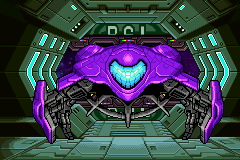 Metroid Fusion Gunship