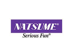 Natsume's logo and slogan.