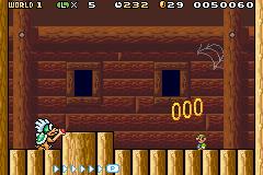 Larry battling Luigi inside the former's airship.