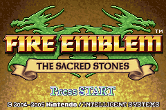 Fire Emblem: The Sacred Stones is one of the few games in the  series with a branching promotion path.