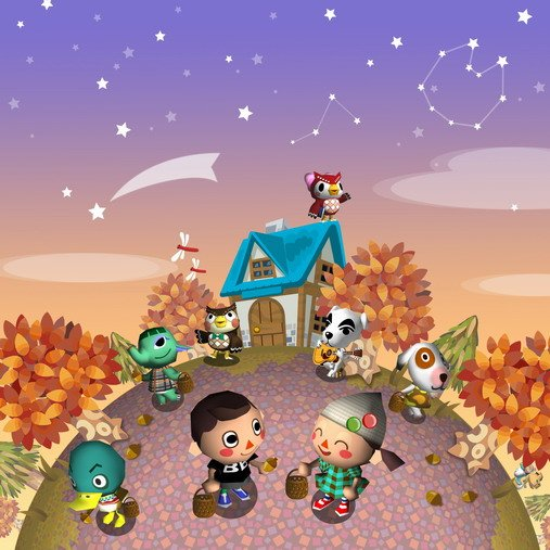 Animal Crossing: City Folk supports 4-player co-op.