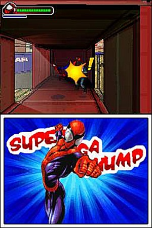 The DS version of Ultimate Spider-Man