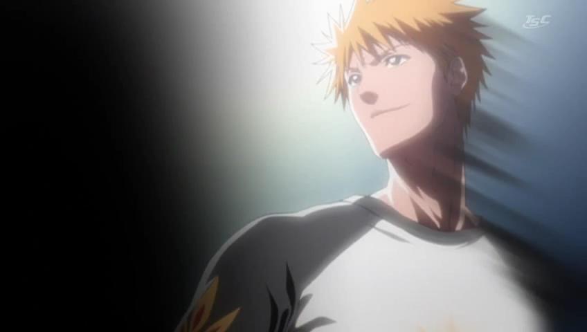 Ichigo looks off into the distance.