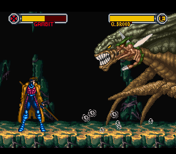Some of the generic bosses felt like they were built to be beaten by a certain X-man. Beating Queen Brood without Gambit seems impossible.