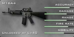 M16A4 stats