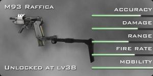 M93 Raffica stats