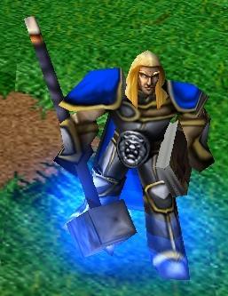 Arthas as seen in Warcraft III