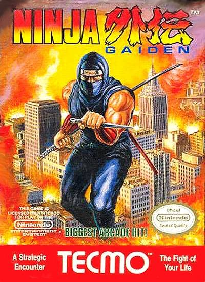 Front cover of Ninja Gaiden (US) for NES