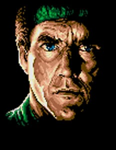 Snake, as he appeared in the MSX2 version of Metal Gear 2: Solid Snake