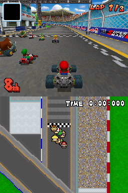 Mario Kart DS. Note: It's an exception!