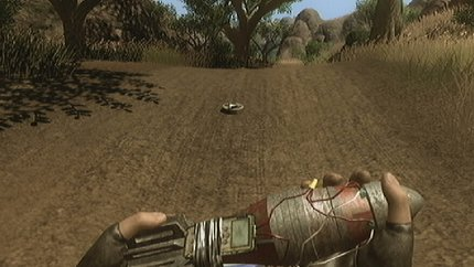 IEDs in Far Cry 2 - a mortar round and a land mine
