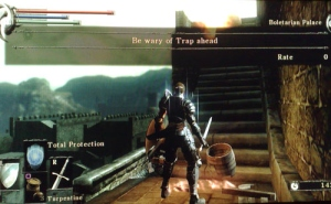 Trap ahead.