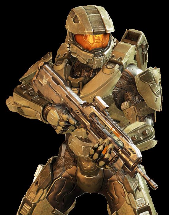 John-117 in Halo 4.