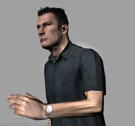 The game's protagonist, Tanner.