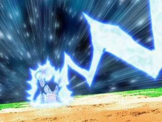 Luxio in the Anime