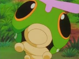 Caterpie on the Anime owned by Ash