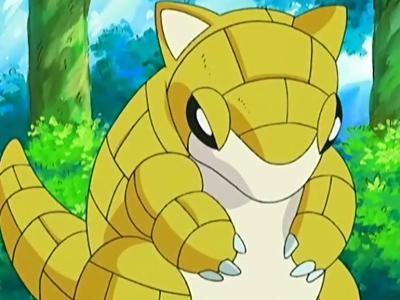 Sandshrew in the Anime