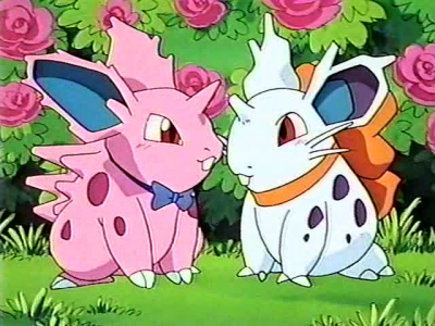 Male and Female Nidorans, a perfect couple
