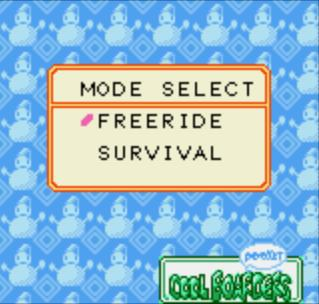 Mode Select Screen