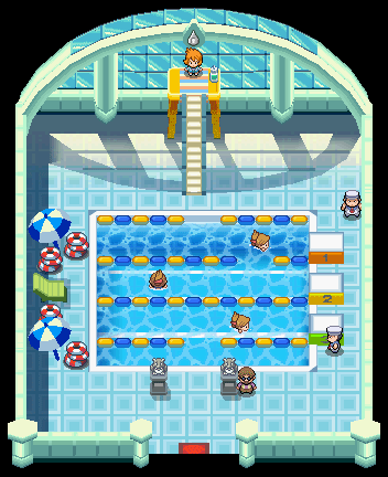 Cerulean City Gym from HG and SS